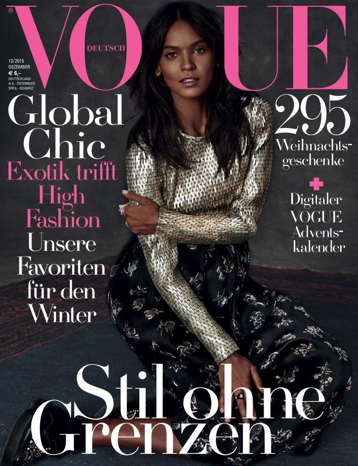 Liya Kebede - Vogue Germany, December 2015