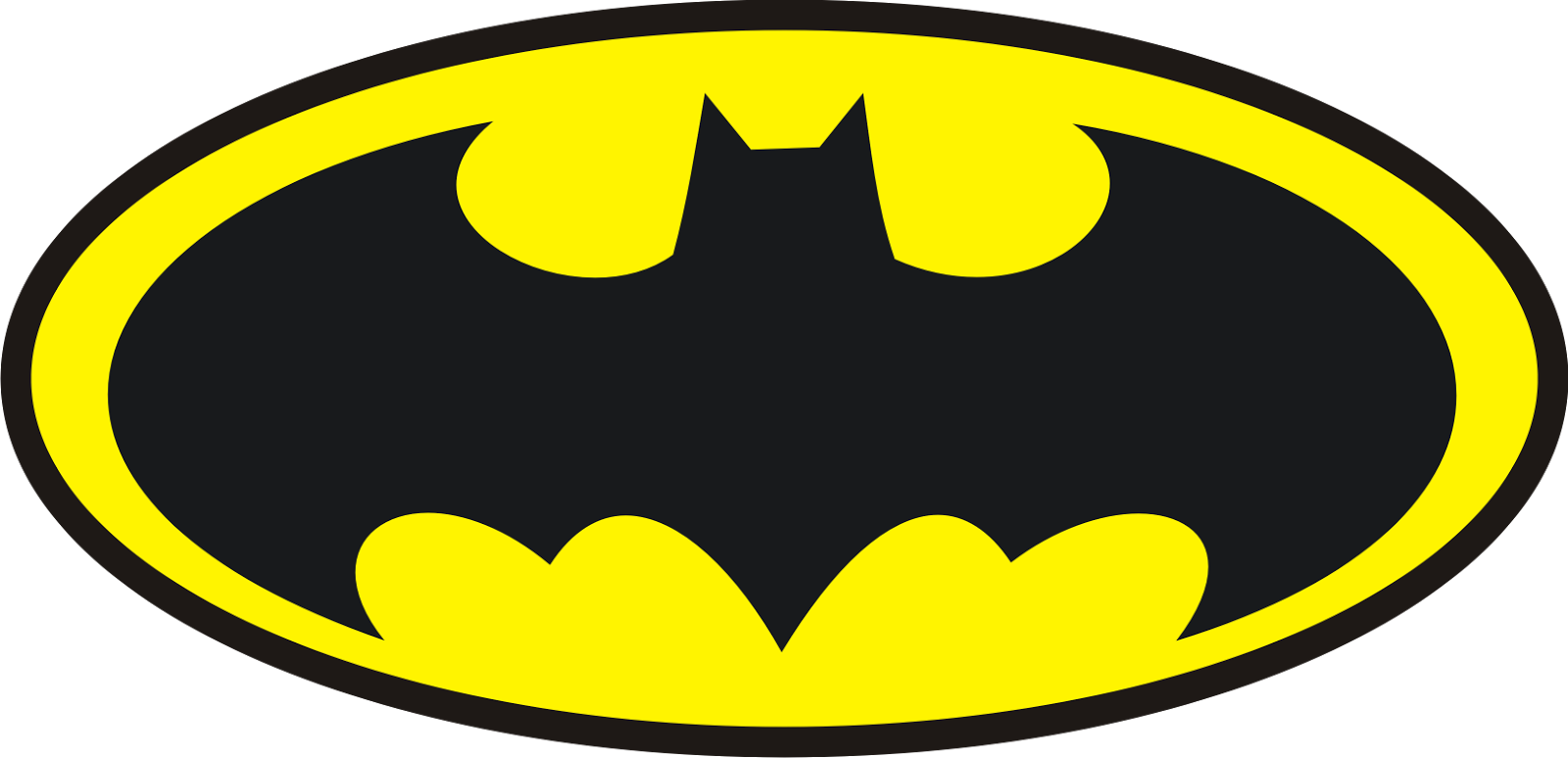 Batman Sticker Rund