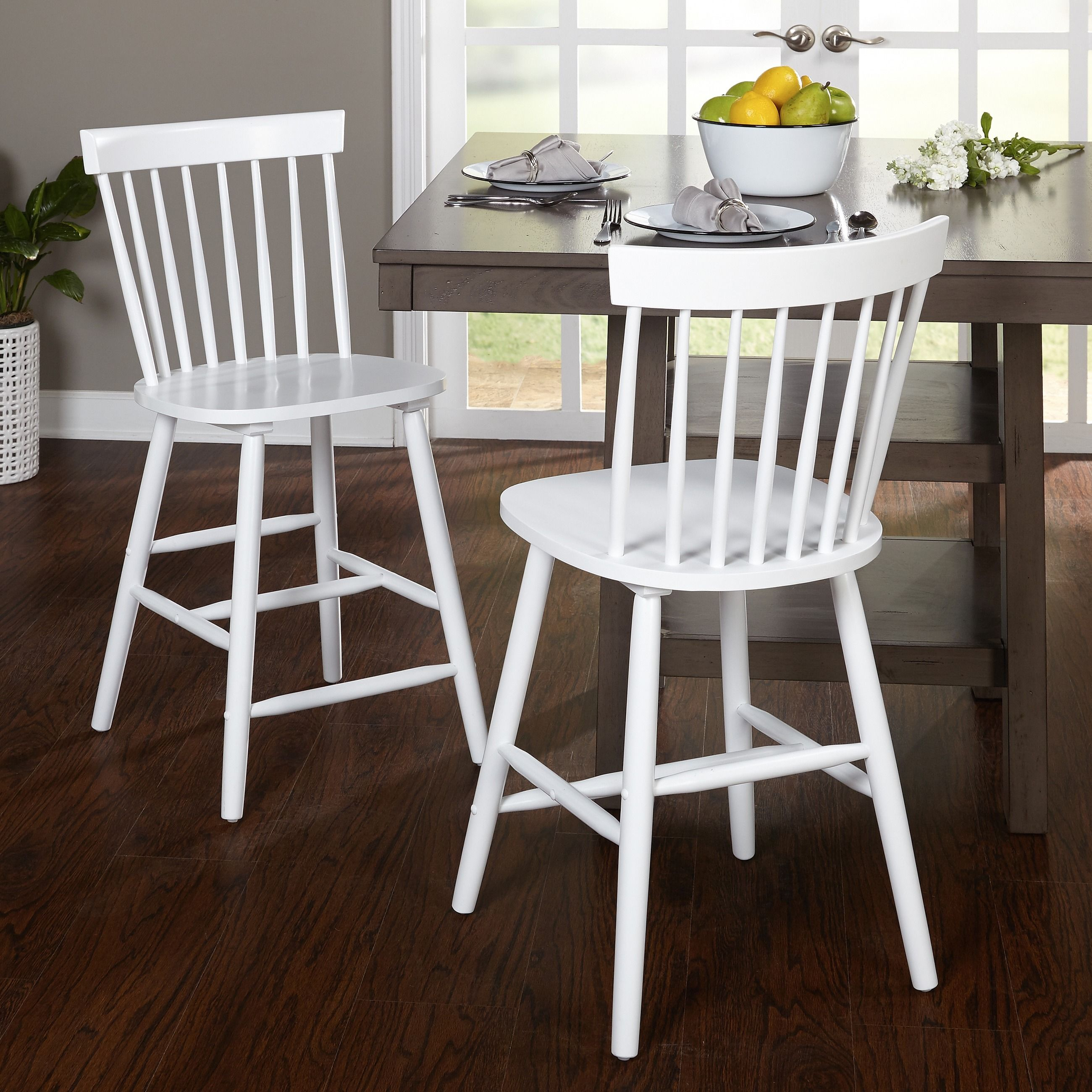 simple living 24 inch venice counter stools set of 2 venice stool