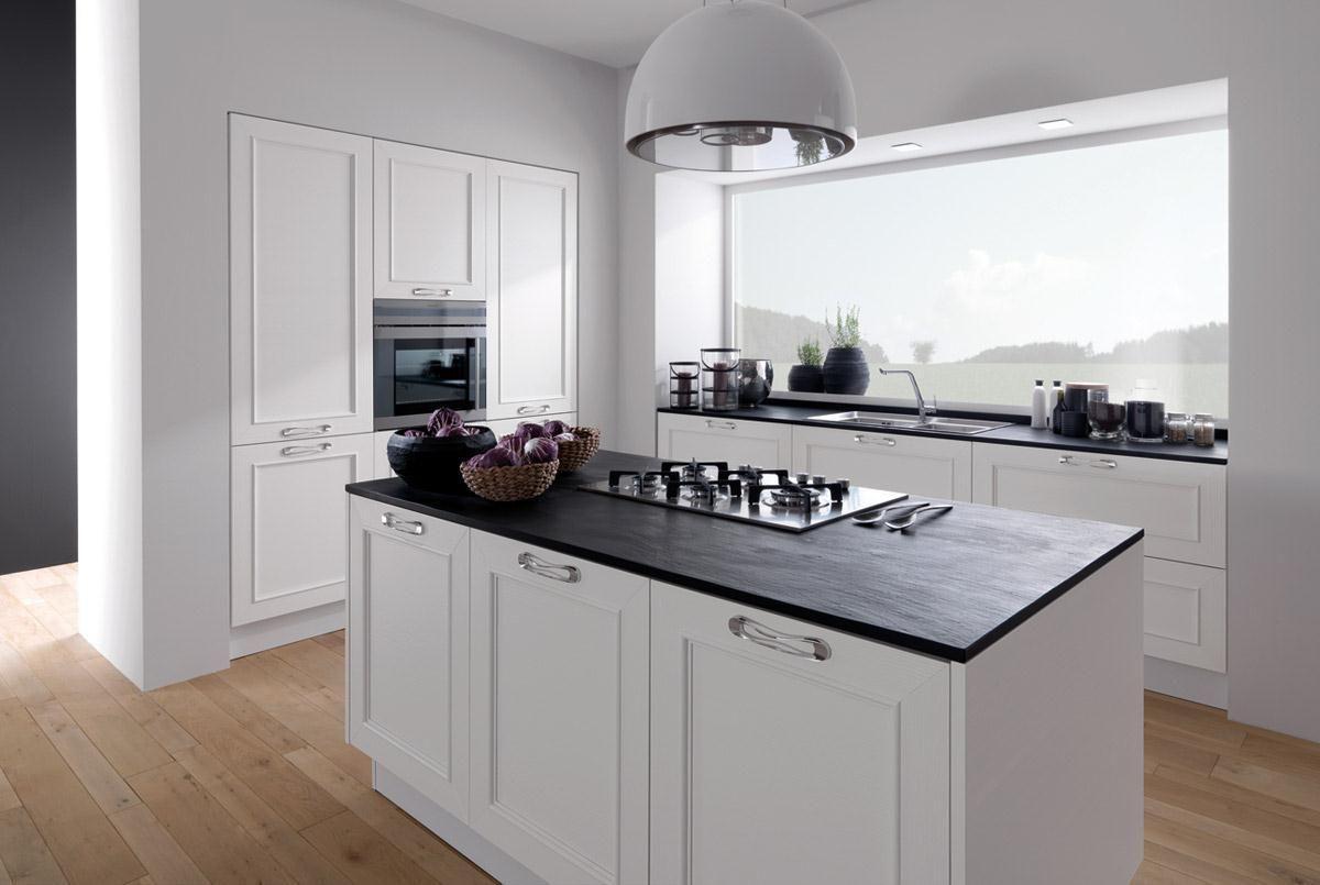 Petite disegno veranda - Cucine moderne nere ...