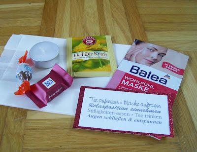 Entspannungsbausatz Geschenke Arbeitskollegen Geschenkideen