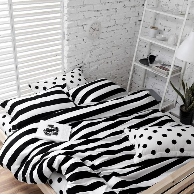 Pin By Leah Weber On Playing House Black Bedding Bedding Sets White Bedding