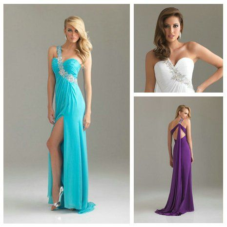 Aliexpress.com : Buy One Shoulder White Purple Green Chiffon Cheap Maternity Prom Dresses from Reliable Maternity Prom Dresses suppliers on Love Forever Wedding Dress Factory  $109.99