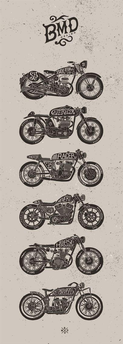 Motorcycles By Bmd Design