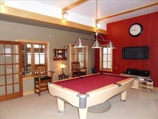 Red Gray Game Room Game Room Room Home Decor