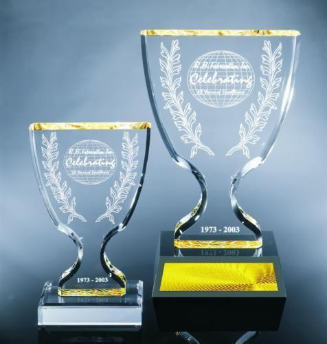 Trophy Cup Achievement Acrylic Awards Executive Acrylic