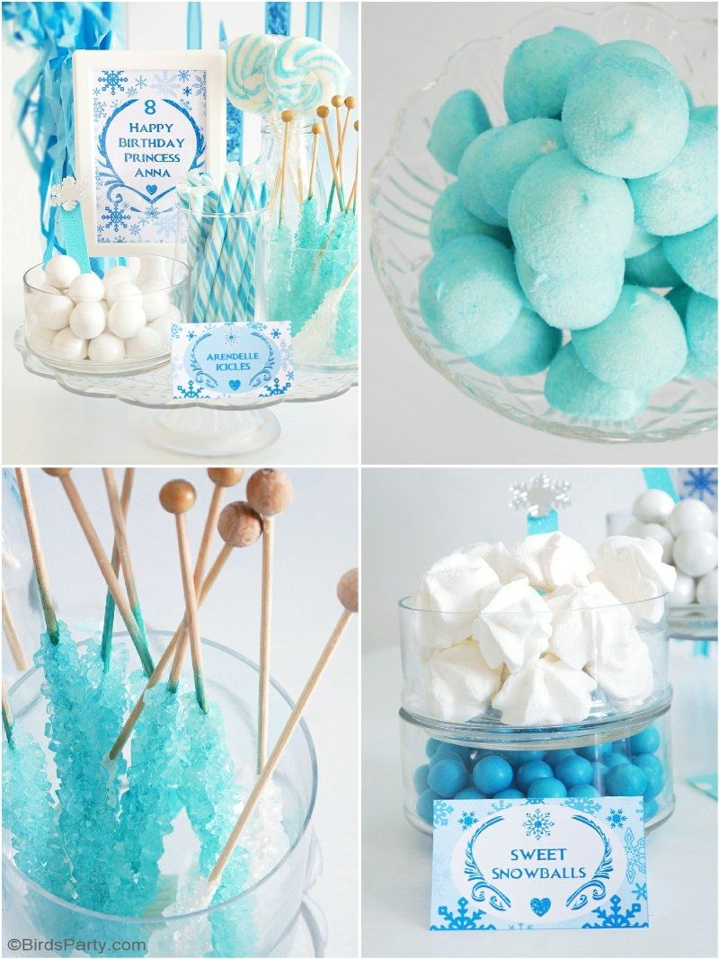 A Frozen Inspired Birthday Party Frozen Themed Birthday Party