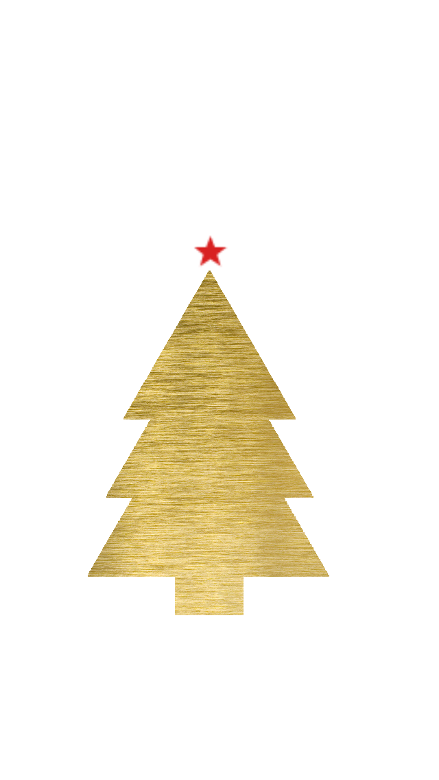 White Gold Christmas Tree Star Iphone Background Phone Wallpaper