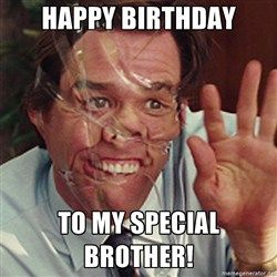 Funny happy birthday to brother by jim carrey funnies pranks birthday funnies bookmarktalkfo Image collections
