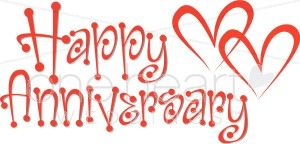 50th anniversary Clip Art | Happy Anniversary Clipart | Wedding ...