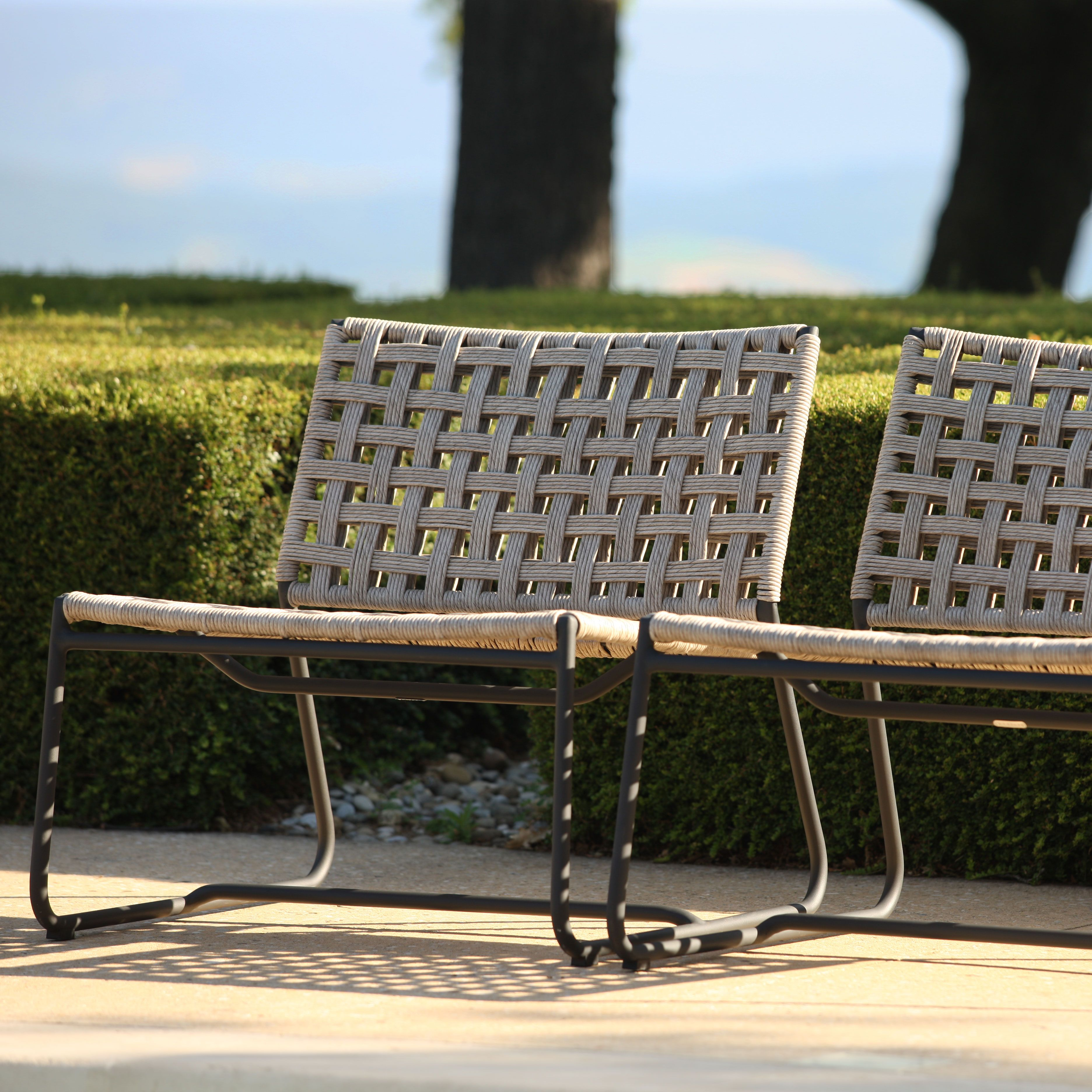 The Mayo Wicker Relaxing Chair Is The Perfect Blend Of