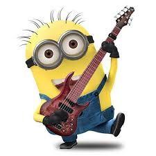 guitar player minions pinterest