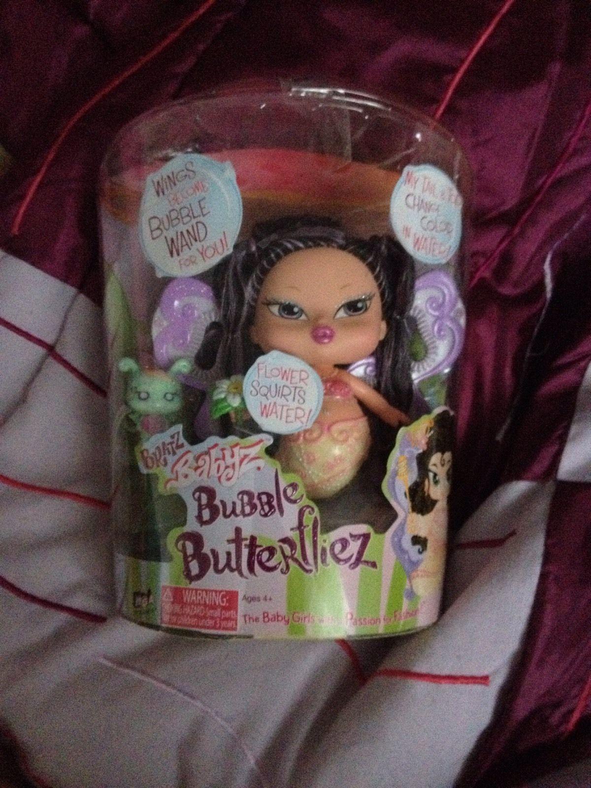 Bratz Babyz Bubble Butterfliez Mermaid Like Doll Change