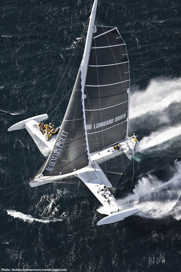 The Hydroptere, the fastest sailboat in the World