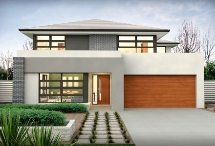 clarendon display homes waterside 34 axis facade visit wwwlocalbuilderscom - Modern Display Homes