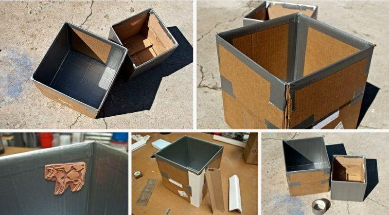 Beton Pflanzkübel selber machen | Garten | Blumenkübel beton ...