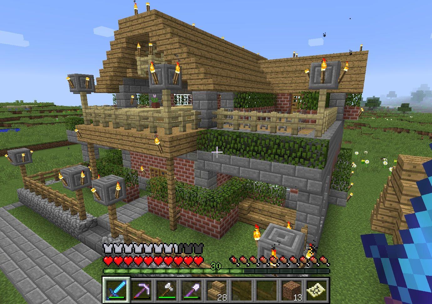 マイクラ 木造建築 の画像検索結果 木造建築 木造 建築