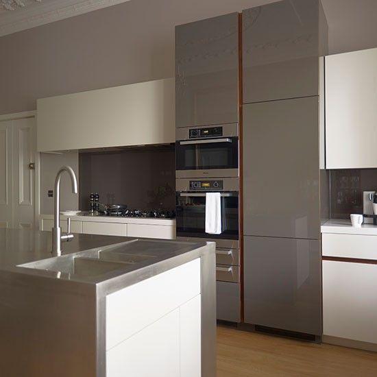 Küchen Küchenideen Küchengeräte Wohnideen Möbel Dekoration Decoration  Living Idea Interiors Home Kitchen   Grauer Und Off