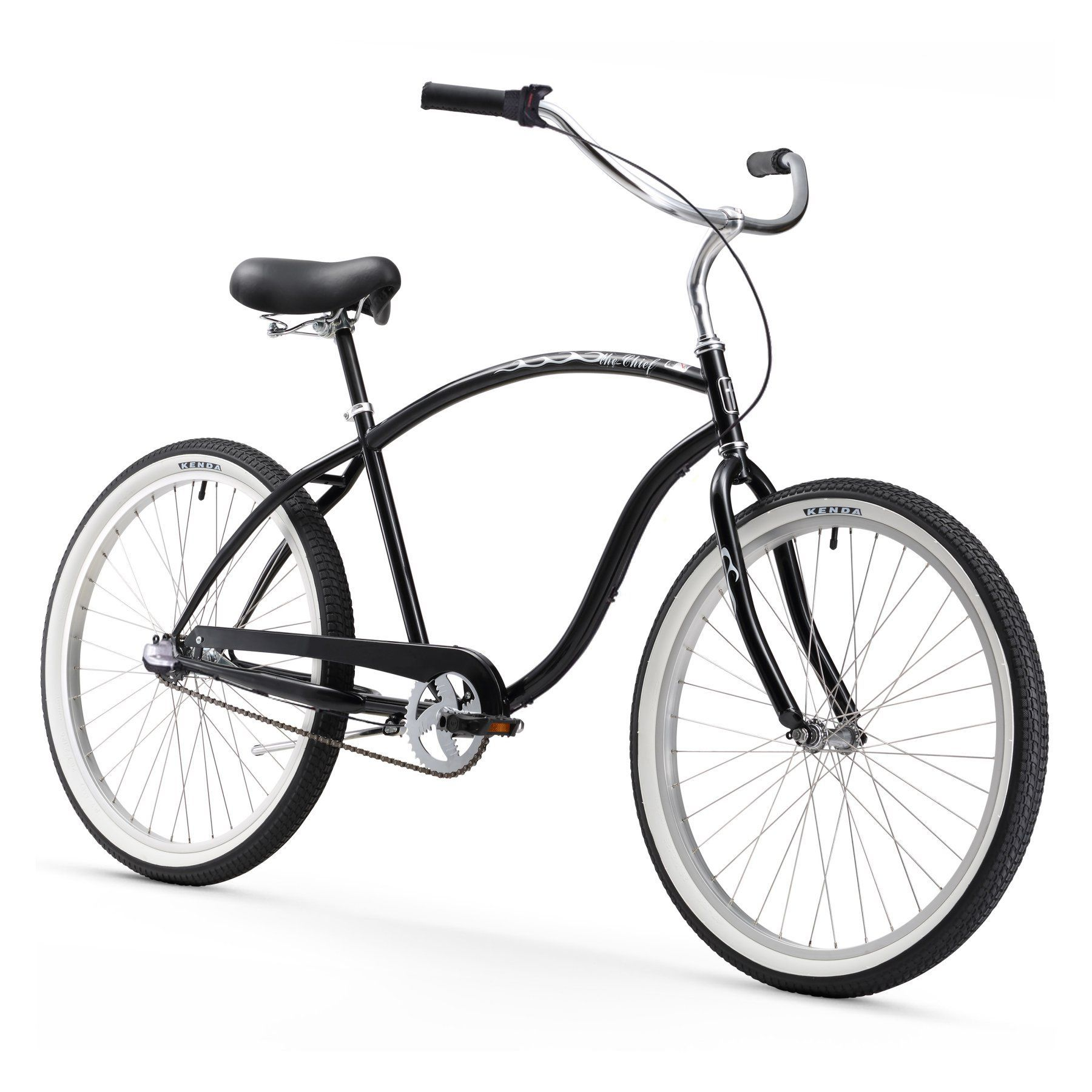 Chief Man 26 in. 3 Speed Beach Cruiser Bicycle - 15182