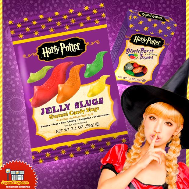 NOVEDAD!! Gominolas Jelly Slugs Harry Potter   5 Sabores de Frutas!! GO! ϟ http://www.japonshop.com/producto/gominolas_jelly_slugs_harry_potter_5_sabores_de_frutas