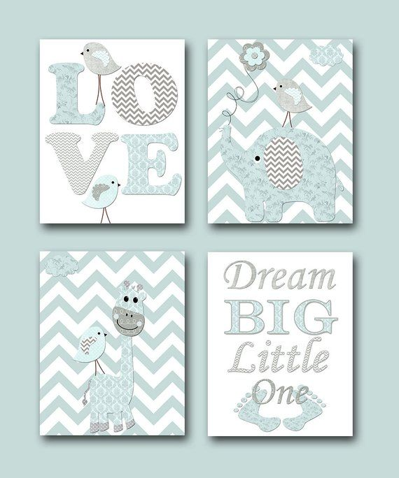 Nursery Quotes Dream Big Little One Baby Shower Gift Baby