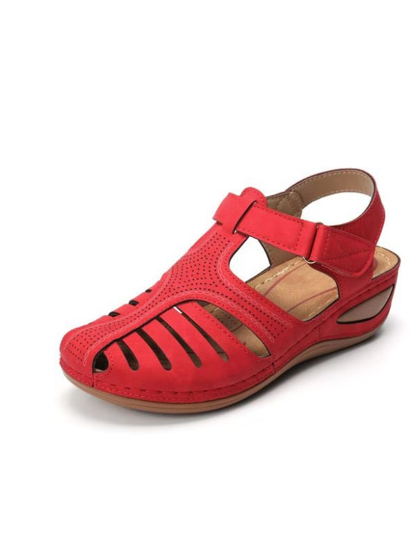 Velcro retro sandals - holapick.com in