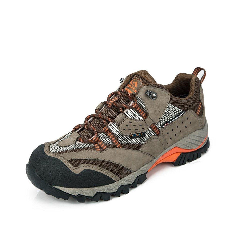 0d1f0f4c7ea Clorts Men's Suede Leather Waterproof Hiking Shoe Outdoor ...