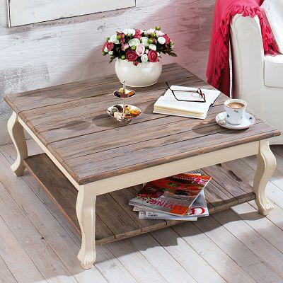 Konferenční stolek  - wohnzimmertisch shabby chic