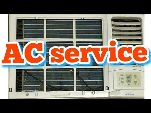 How to window AC repair and gas charging in hindi