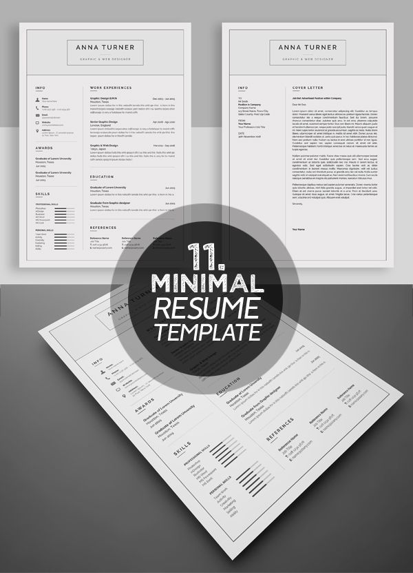 Attractive Resume / CV Template Misc Pinterest Cv template - attractive resume template