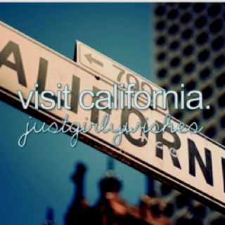 Is it crazy that i have never been to california?!