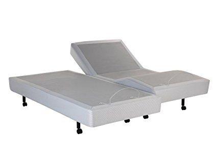 Leggett Platt S Cape Split King Wallhugger Adjustable Bed Base With Dual Full Body Massage W Free Sh Adjustable Beds Adjustable Bed Base Adjustable Bed Frame