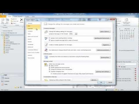 How To Create Signature In Outlook 2010 Outlook Teaching Administration