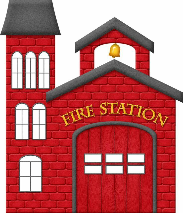 Fire Station Fire Station Train Wall Art Kids Room Prints