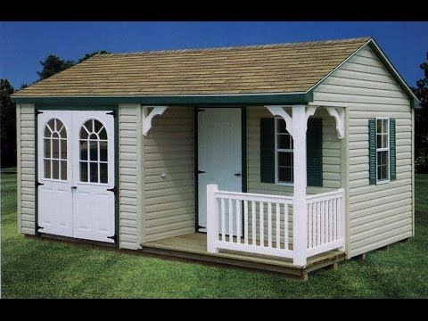 Image result for sheds for sale lowes hideouts pinterest for Sheds with porches for sale