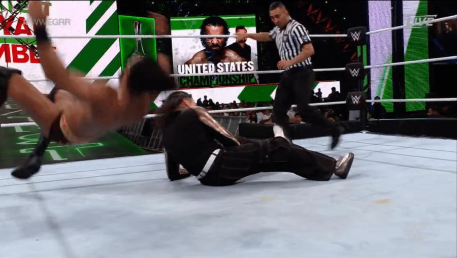 Jinder Mahal Reacts To His Botched Spot At The Greatest Royal Rumble Wrestling News Royal Rumble Wrestling News Jinder Mahal