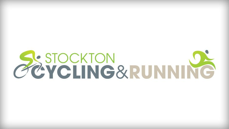 Stockton Cycling Running Logo Design Running Logo Running Logo Design