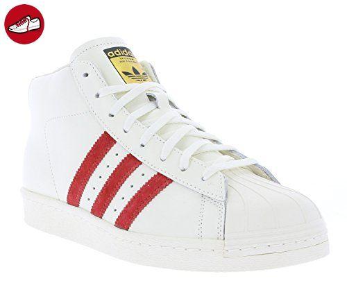 adidas - Hi-Tops - Pro Model Vintage DLX Schuh - White - 46 2