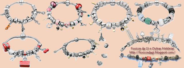 Fuxicos da Gi e outras Histórias: Berloques - Charms - Beads