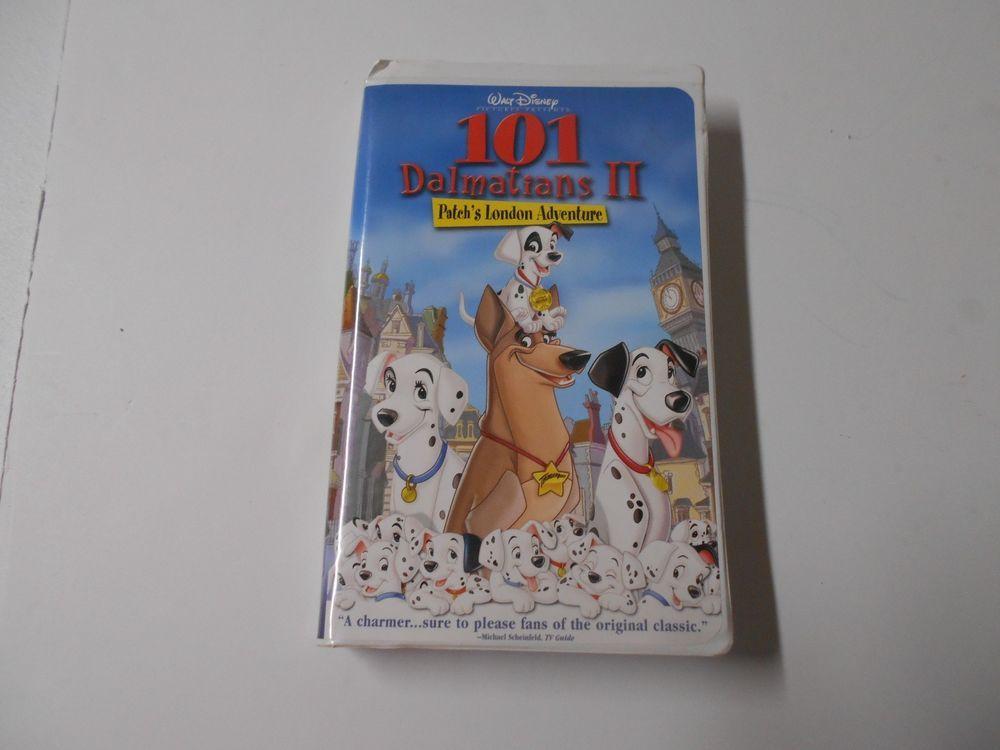 101 Dalmatians Ii Patch S London Adventure Vhs 23971 Walt Disney