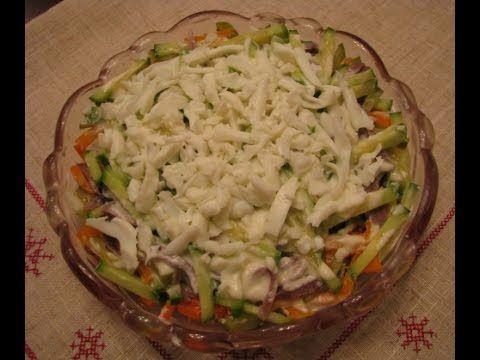 Салат из свиного языка — простые и вкусные рецепты   Еда ...