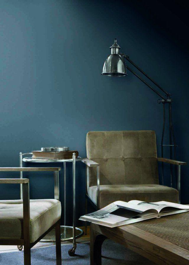 Du bleu nuit pour une d co envo tante blue design color - Palette de couleur peinture pour chambre ...