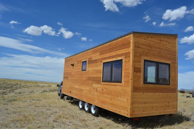 Fremont Tiny House in Wyoming by Luke Anderson