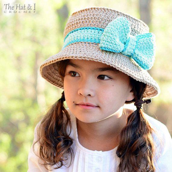 CROCHET PATTERN Southern Belle crochet hat pattern sun hat ...