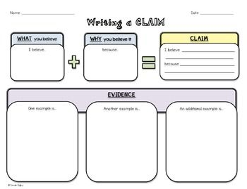 Writing and Constructing a Claim