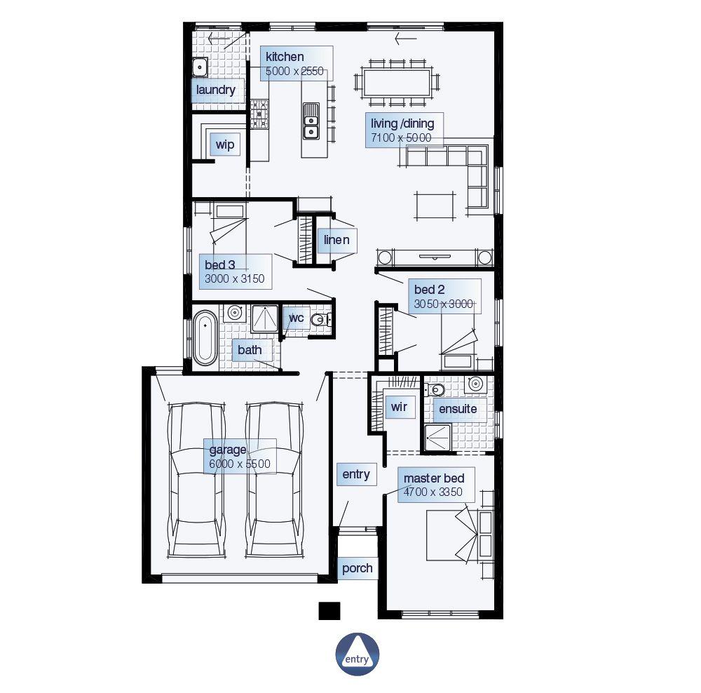 Simonds Homes Floorplan - Prague   Casa dos sonhos   Pinterest ...