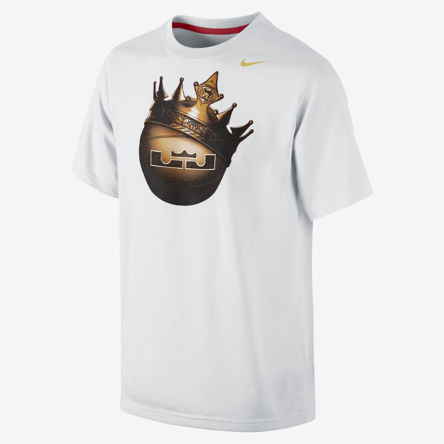 Lebron Crown Ball Boys T Shirt Nike Store [ 1860 x 1860 Pixel ]