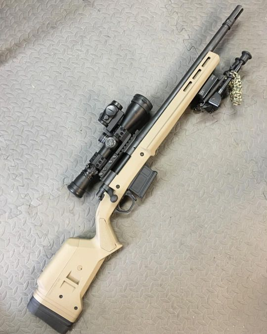 Remy 700 Sps Tactical In Magpul Hunter Stock Boltgun Pinterest
