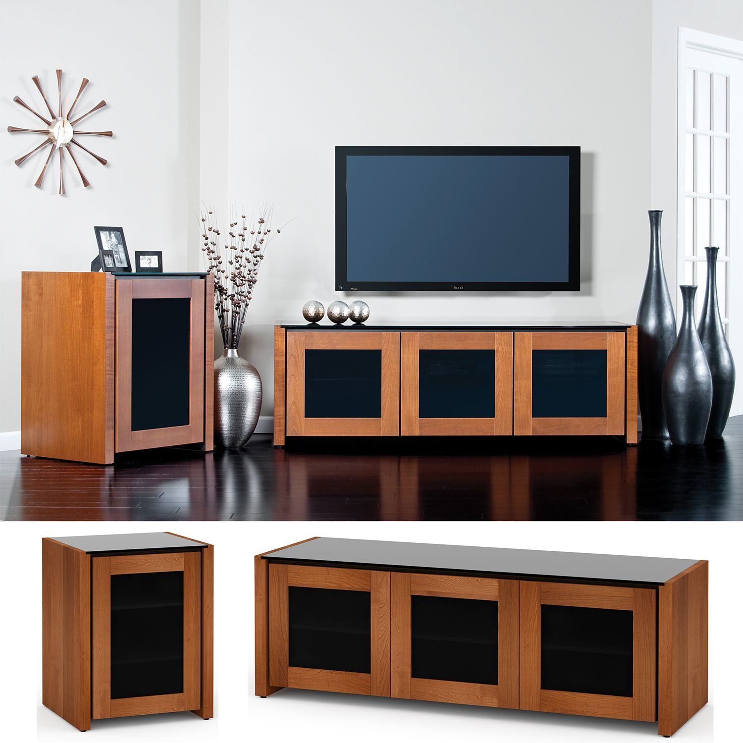 visual entertainment berlin cabinet equipment cabinets furniture salamander collection av pin center home audio