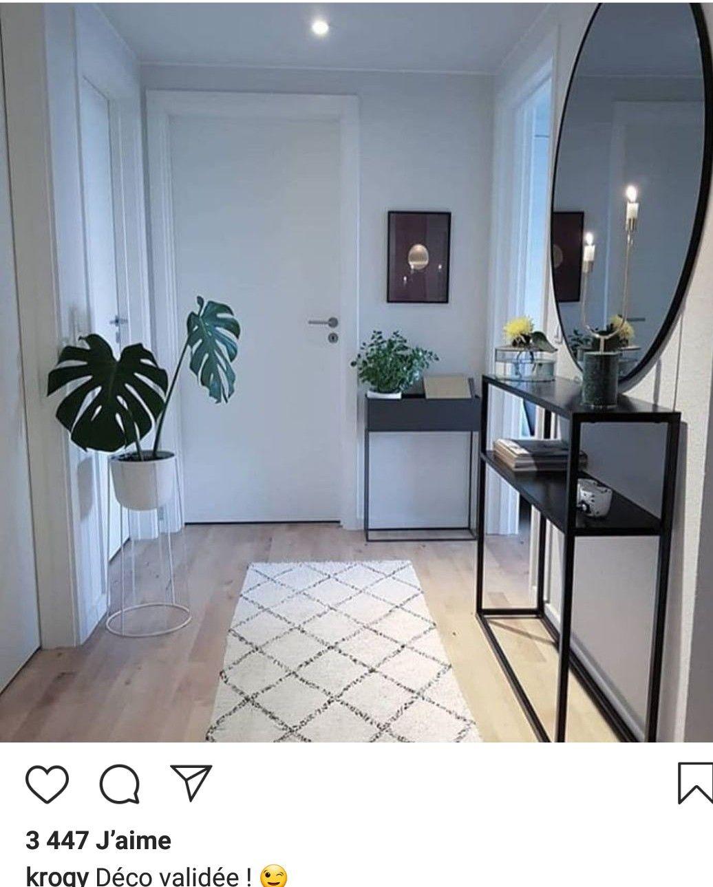 Idée entrée | Deco en 2019 | Déco entrée maison, Deco maison ...
